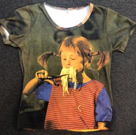 Pippi t-shirt korte mouw - Spaghetti
