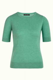 King Louie Agnes Top Cocoon Opal Green