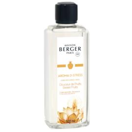 Lampe Berger - Aroma D-Stress Douceur de Fruits / Sweet fruits 500 ml.