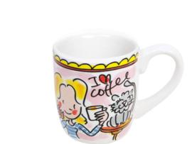 Even Bijkletsen - Espressokopje I love coffee 50 ml