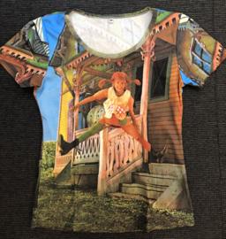 Pippi t-shirt korte mouw - Villa Kakelbont
