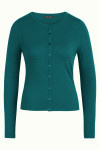 King Louie Cardi Roundneck Cocoon - Antique Green