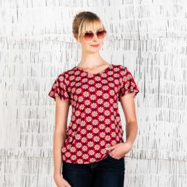 Moshiki Shirt Red Sun