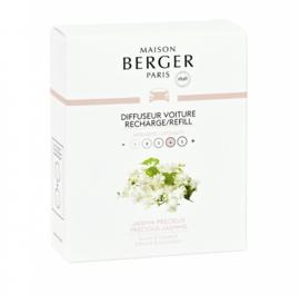 Lampe Berger - Auto parfum navulling Jasmin precieux / Precious Jasmin 2 pcs.