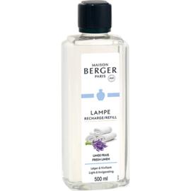 Lampe Berger - Linge Frais / Fresh Linen 500 ml.