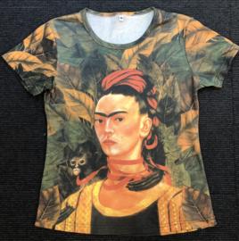 Frida t-shirt korte mouw - Monkey