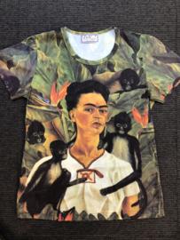 Frida t-shirt korte mouw - new monkey