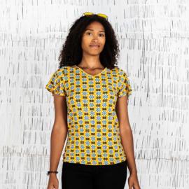 Moshiki Shirt Yellow Sun