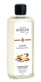Lampe Berger - Poussiere d'Ambre / Amber Powder 1000 ml.