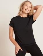 Boody Women's Crew Neck T-Shirt Black