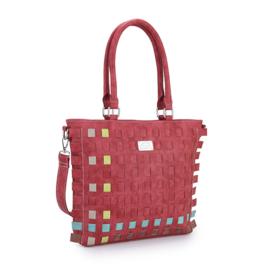 Hi-Di-Hi Tangle Red Shopper