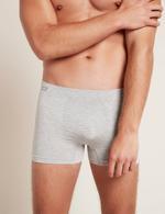 Boody Men's Original Boxers Light Grey Marl