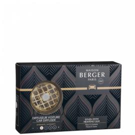 Lampe Berger - Auto Parfum Diffuser Soleil Divin set / Heavenly sun set