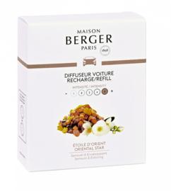 Lampe Berger - Auto parfum navulling Etoile D'Orient / Oriental Star 2 pcs.