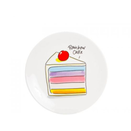 Blond Amsterdam Moederdag: Taartbord Rainbow Cake ø18cm