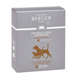 Lampe Berger - Auto parfum navulling Anti odeur Animaux / Pets 2 pcs.