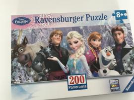 Frozen Ravensburger puzzel 200 st panorama