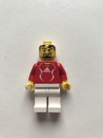 Lego figuur soccer player