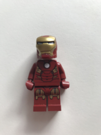 Lego figuur Iron Man with circle on chest