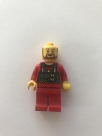 Lego figuur city man constructie