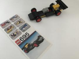 695 racing car