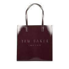 Shopper lak deep purple TED BAKER
