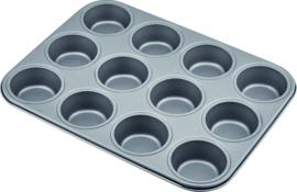 Muffinplaat 12-gaats carbon staal/anti-aanbak