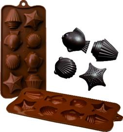 Chocoladevorm Zeebanket silicone