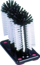 Glazenspoelborstel 3-delig standaard