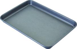 Bakplaat 40x28x3 cm carbon staal/anti-aanbak
