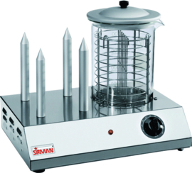 Hot-dog apparaat 4 pen 230 volt