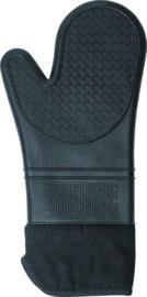 Moha oven & bbq handschoen silicone (1x)