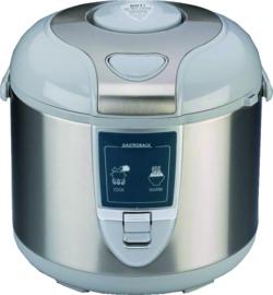 Rijstkoker rvs/geborsteld 3 liter 450 Watt