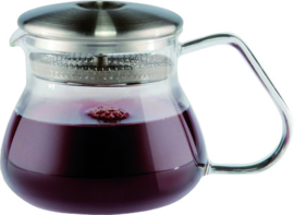 Theepot glas met filter - 300 ml.