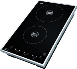 Kookplaat inductie 29x51x8,5 cm 3100 Watt
