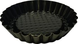Vlaaivorm 6 stuks 10 cm anti- aanbak