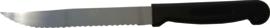 Keukenmes kartel r.v.s. 14 cm kunststof greep
