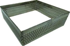 Bakring Perfo r.v.s. vierkant 7x7x2 cm