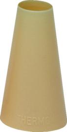 Spuitje glad kunststof nylon 17 mm