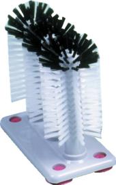 Glazenspoelborstel 3-delig nylon