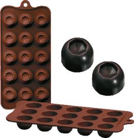 Chocoladevorm Diam silicone