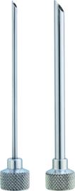 Injector spuitjes rvs 2 stuks