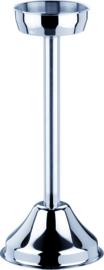 Wijnkoelerstandaard r.v.s. 65 cm hoog