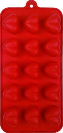 Chocoladevorm Hart silicone Dexam