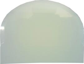 Deegschraper kunststof 12x8,8 cm wit