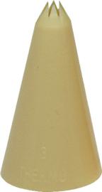Spuitje kartel kunststof nylon 3 mm
