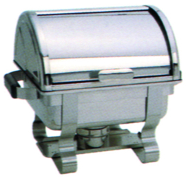 Chafing dish GN 2/3 Roll Top rvs