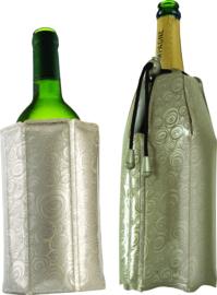 Vacuvin wijn & champagnekoeler Platinum