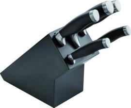 Messenblok 5-delig zwart