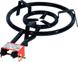 Paella-industriebrander 40 cm voor paella pan 60 cm